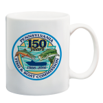 Born To Fish 150th Anniversary Mug