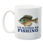 I'd Rather Be Fishing 150th Anniversary Mug
