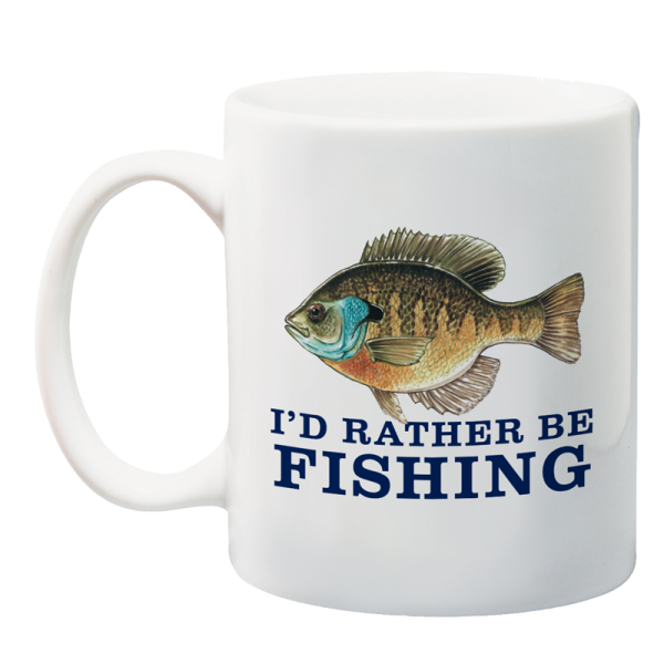 I 39 d rather be fishing pa fish and boat 150th anniversary mug for Rather be fishing
