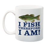 I Fish Therefore I Am 150th Anniversary Mug