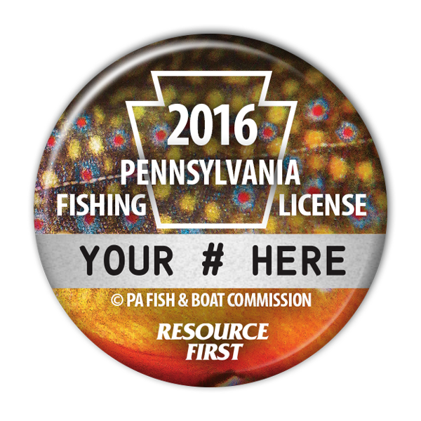 2016 pa fishing license buttons fishing license buttons for Pa fishing license online