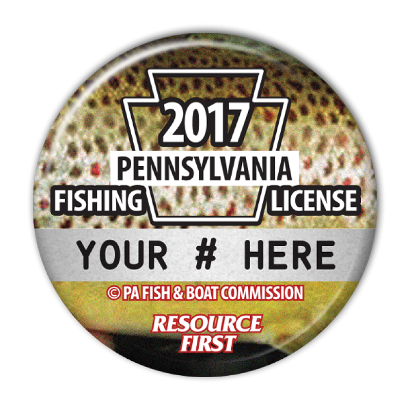 2017 pa fishing license buttons fishing license buttons for Pa fishing license online