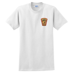 Two Sided White Cotton T-Shirt