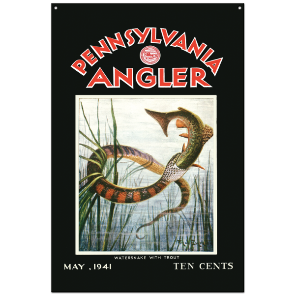 Collector Angler Magazine Sign - May 1941