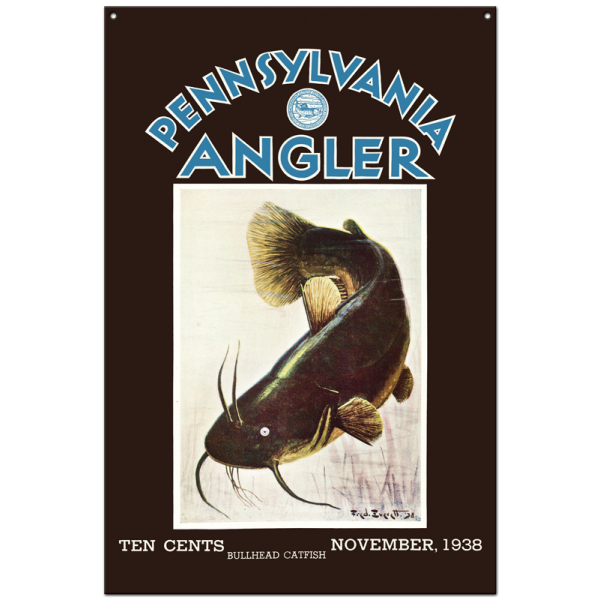 Collector Angler Magazine Sign - November 1938